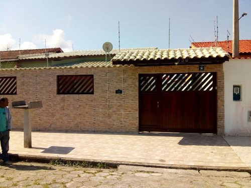Excelente Casa Com 350 Metros Do Mar - Itanhaém 4719   Sanm