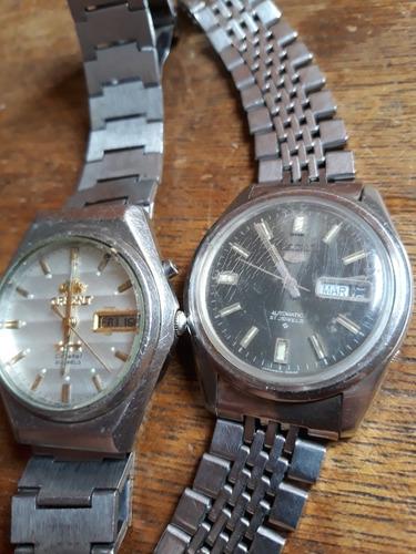 Lote De 2relógios  Seiko 6119-8083e Orient Automatic(pz02)