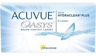 Lentes De Contacto Acuvue Oasys Toric Promo 3+1 Neutras