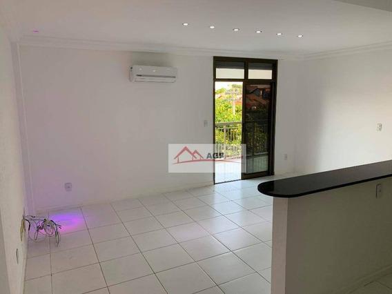 Apartamento Com 1 Dormitório Para Alugar, 60 M² Por R$ 1.500,00/mês - Camboinhas - Niterói/rj - Ap0192