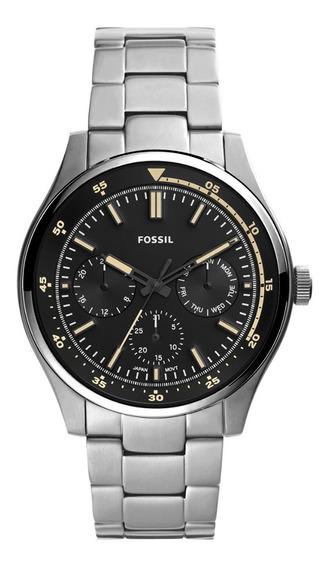 Reloj Fossil Original Extensible Metálico Hombre Fs5575