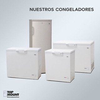 Congelador Horizontal Bottom Mount Todas Las Capacidades