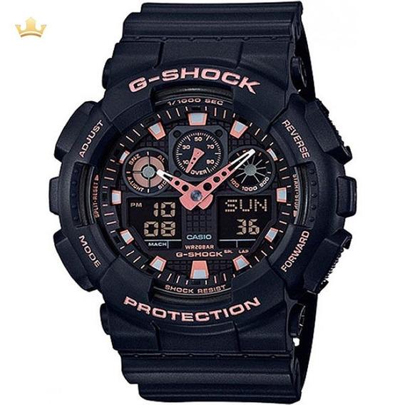 Relógio Casio G-shock Masculino Ga-100gbx-1a4dr Com Nf