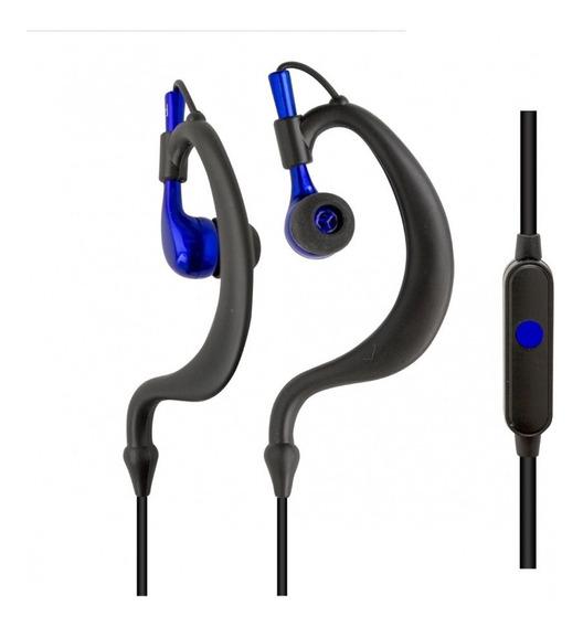 Fone De Ouvido Esportivo Tipo Auricular À Prova De Transp