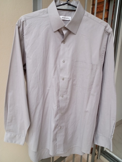 Camisa Gris Pierre Cardin Original Talle 41. Impecable.