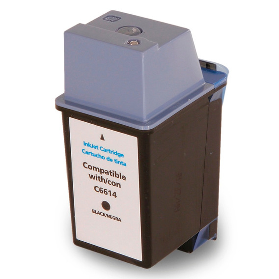 Cartucho Compativel Com C6614d