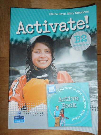 Kit 2 Livros Inglês: Activate! B2 E Wizard Teens 2 + 2 Cds