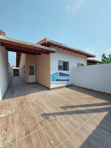 Casa Na Praia, Com Espaço Para Piscina Somente R$195mil Minha Casa Minha Vida Utilize Seu Fgts Whats (13) 98174-2222 - Ca0563
