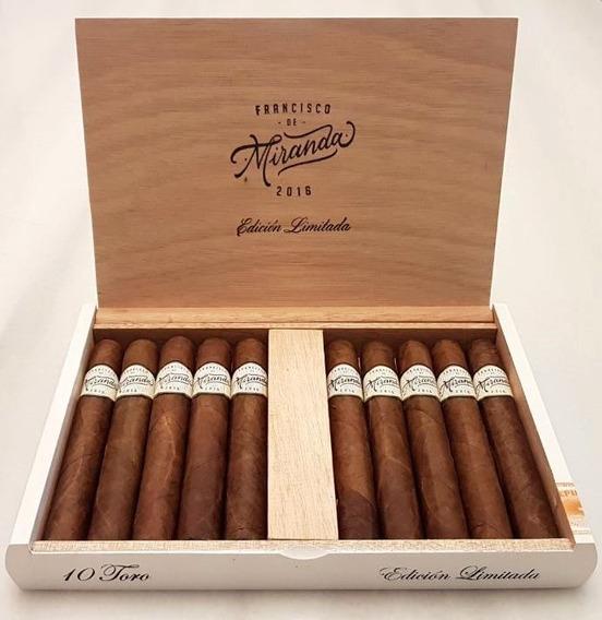Cigarro Francisco De Miranda Toro Ed. Limitada X10 U