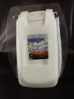 Capa Silicone Gelo Blackberry Pearl Flip 8220