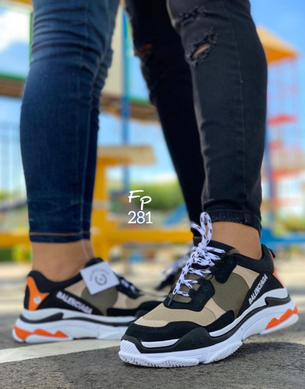 Tenis Zapato Deportivo Dama Mujer Caballero Hombre Color 006