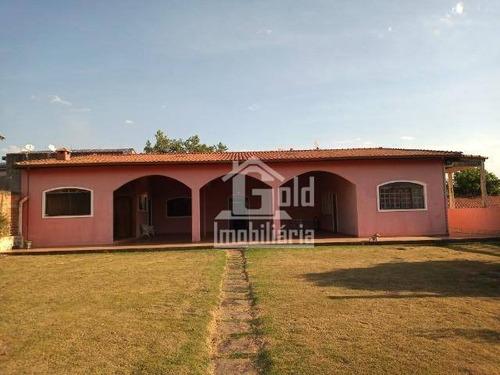 Chácara Com Casa De 270 M²,  Mobiliada, - Ch0068
