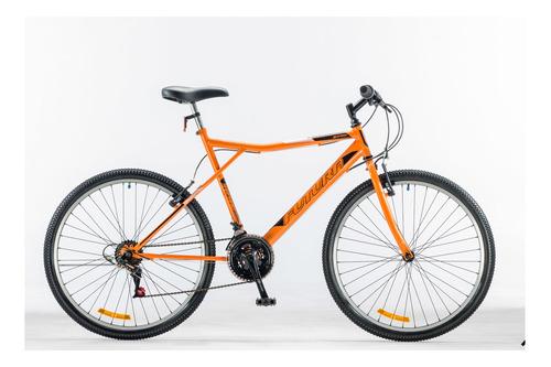 "Mountain bike Futura Techno 026 R26 18"" 21v frenos v-brakes cambios Index color naranja"