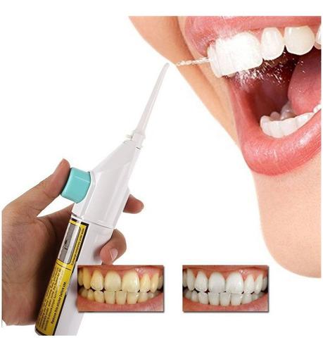 Irrigador Oral Dental Agua Chorro Limpieza Dientes Manija