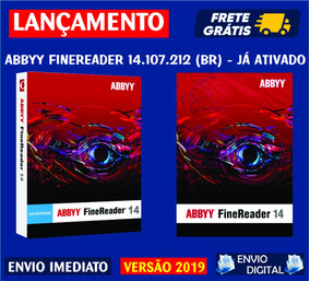 Abbyy Finereader 14 Em Português / Envio Digital Imediato