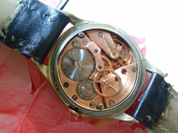 Relógio Omega Masculino A Corda Estrela Vermelha