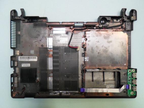 Carcaça Base Inferior Notebook Acer Aspire 4553 Com Tampa