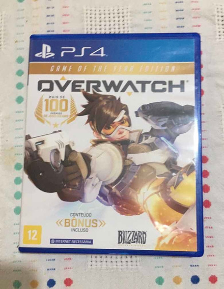 Overwatch Ps4 Game Of The Year Edition