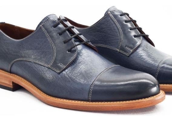 Zapato Hombre Cuero Vestir Giorgio Beneti M222 Calzados Susy