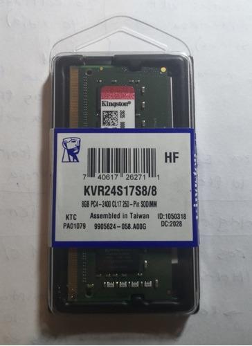 Ram Kingston 8gb Sodimm Ddr4 2400mhz 1.2v