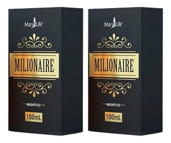 Perfume Masculino Milionaire 2 X 100ml - Mary Life