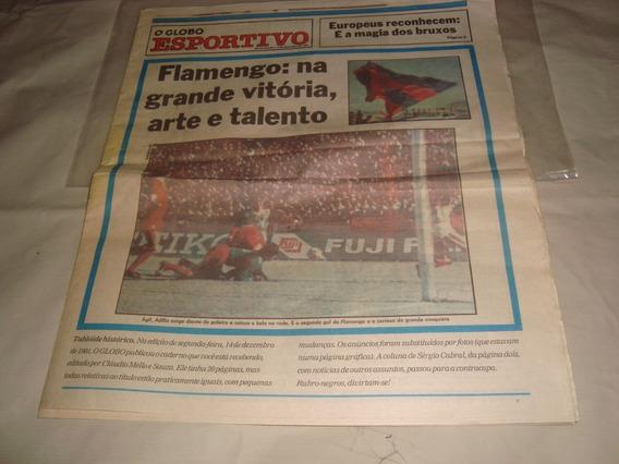 Jornal Original Campeonato Mundial Do Flamengo 1981 Perfeito