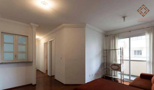 Apartamento Com 3 Dormitórios À Venda, 63 M² Por R$ 695.000,00 - Vila Mariana - São Paulo/sp - Ap51922