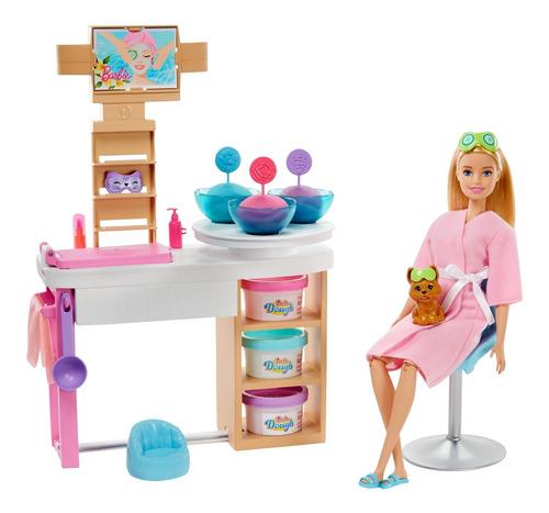 Barbie Fashionista Spa De Lujo Muñeca Para Niñas