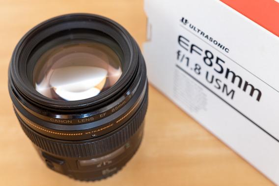 Lente Canon Ef 85mm F1.8