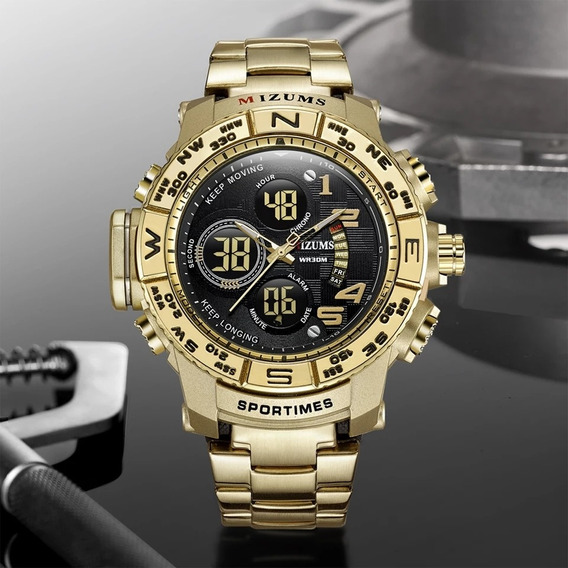 Relógio Mizums Original Modelo 8002 Pronta Entrega