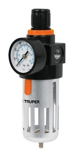 Filtro De Aire Para Compresor Con Regulador Truper Fire 1/4