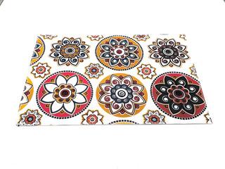 Mantel Individual De Ecocuero Estampado 45x32