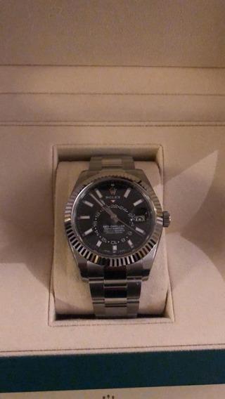 Rolex Sky Dweller Original Zero Na Caixa Com Certificados