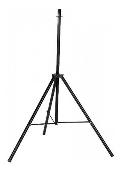 Suporte Pedestal Para Caixa De Som Cxm Até 80 Kg Preto