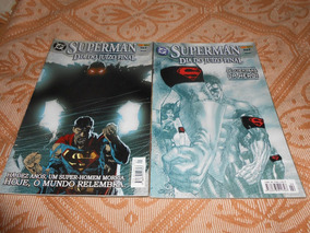Hq Superman Dia Do Juízo Final, Completo 2 Edições.