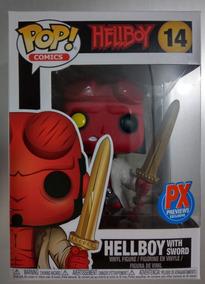 Funko Pop Hellboy With Sword No.14 Px Previews Exclusive