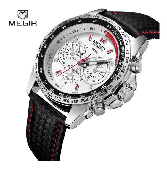 Relógio Masculino Megir 1010 A Prova D