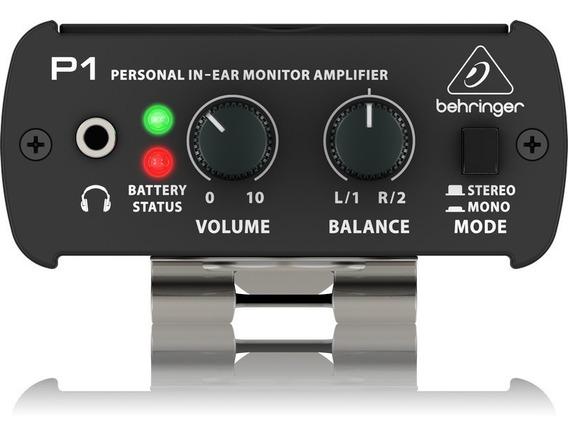 Amplificador De Monitor Personal In Ear Behringer P1