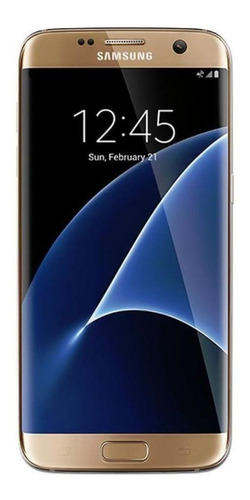 Imagen 1 de 3 de Samsung Galaxy S7 Edge 32 GB dorado platino 4 GB RAM