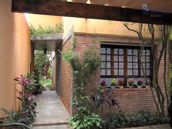Sobrado Com 4 Dormitórios À Venda, 278 M² Por R$ 2.380.000 - Alto De Pinheiros - São Paulo/sp - So0212