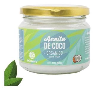 Aceite De Coco Orgánico Manare 250ml - Extravirgen