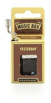 Kikkerland Juegos Caja Musical Melodia Yesterday