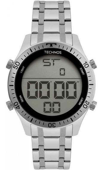 Relógio Technos T02139ac/1c Digital Prata Original