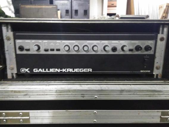 Cabeçote Gallien-krueger - Gk800rb - Com Hardcase