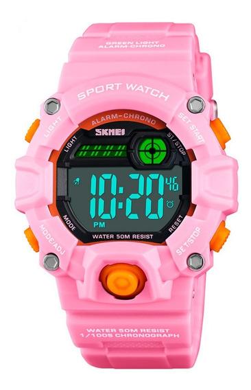 Reloj Niños Skmei 1484 Deportes G-shock Cronómetro Acuáticos