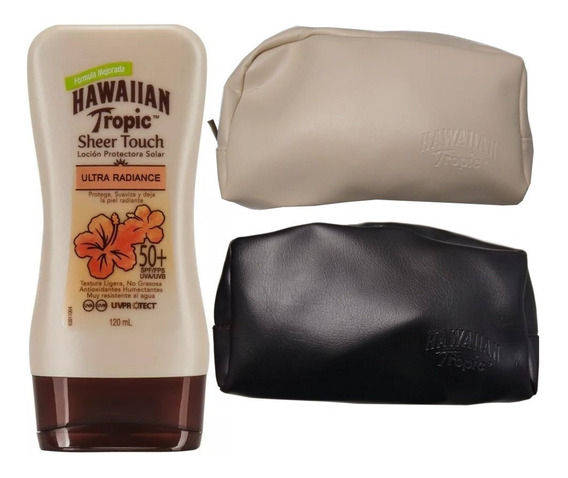 Protector Solar Hawaiian Tropic Sheer Touch 50+ Spf 120ml