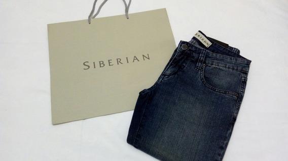 Calça Jeans Siberian Tam.38 Strecht Azul Como Novo Sacola