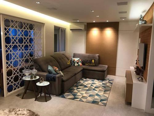 Imagem 1 de 30 de Apartamento, 134 M² - Venda Por R$ 2.197.000,00 Ou Aluguel Por R$ 11.850,00/mês - Brooklin - São Paulo/sp - Ap16144