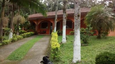 Sítio / Chácara Para Venda Em Mogi Das Cruzes, Taiaçupeba, 4 Dormitórios, 4 Suítes, 2 Banheiros, 10 Vagas - 1683