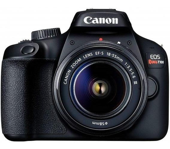 Câmera Digital Canon Eos Rebel T100 18.0mp Wifi, Nfc